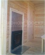 Фото печи и комнаты отдыха в бане 3х4 под ключ