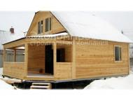 дом из бруса 7x8